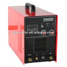 DC Inverter TIG MMA Máquinas de soldagem TIG 250A IGBT