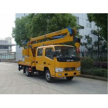 New Dongfeng online rolling ladder work platform vehicle