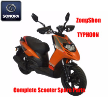 Zongshen TYPHOON Repuestos Scooter completo Repuestos originales