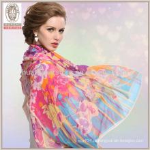 Cachecol de seda de alta qualidade