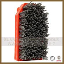 Pincel abrasivo de diamante / superfície de pedra Processamento Pincel abrasivo