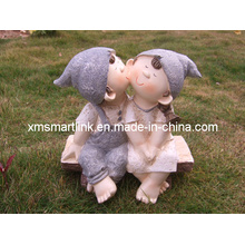Sculpture Polyresin Doll Decoration Statue
