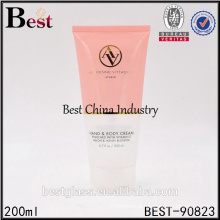 200ml colored cosmetic plastic tube design for sun cream