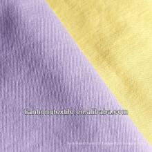 Femmes de sergé de coton tissé de Spandex tissu teinté