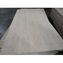 1220 * 2440mm natürliches Eschenfurnier-Sperrholz
