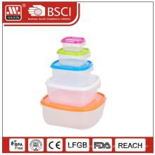 Envase de alimento de porcelana de preservación de frescura para microondas vacío