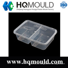 Plastic Square Food Packaging Container Mold with Mirror Polishing