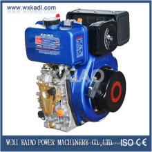 Motor diesel 3-10 HP para uso em barco / motor diesel refrigerado a ar
