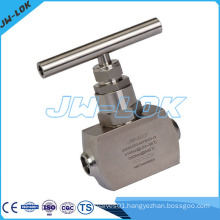 Stainless Steel Needle Valve Butt Welding End 6000psig High Pressure Needle Valve