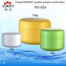 Pot de crème vide Jar cosmétiques Rd-924