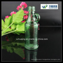 40ml Mini Green Wine Glass Bottle with Small Handle