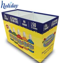 Recycled Material Supermarket Cardboard Gift Pallet Display,Car Shape Design Shop Showing Sales Pallet Display