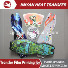 film heat transfer print for plastic skateboard