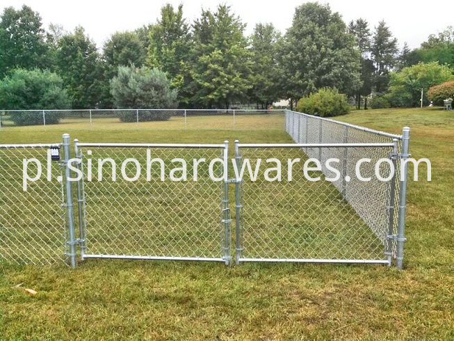 diamond chain link fence