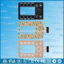 Sensor capacitivo de contacto con membrana PET interruptor con 3M468