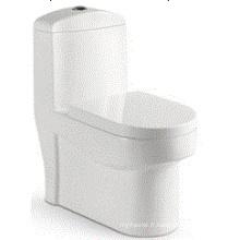 Design de mode Salle de bain Washdown One Piece Toilette en céramique (6510)