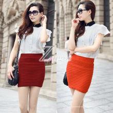 Mini jupe sans couture étanche jupe courte et ajustée