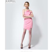 OEM-продукт, Европа Новое летнее платье без рукавов Сексуальное платье для похудения Тонкое платье из тонкого платья с капюшоном Женщины