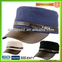 Chapeau de cuir suprême personnalisé