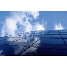 Parede de cortina de vidro laminado temperado para construção