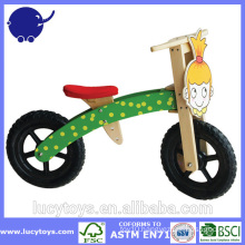 kids wooden folding bicycle for girls
