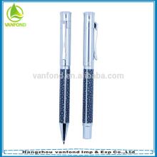 Pequeño MOQ lujo alta calidad precio barato Metal promocional pluma de la insignia
