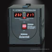 Универсальный автоматический стабилизатор напряжения / светодиодный дисплей Стабилизатор напряжения 2000ВА 1200 Вт