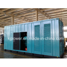 600kw Silent Diesel Genset Powered with USA Googol Diesel Engine