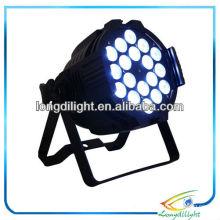 LED Alu Quad Par 64 Black RGBW & RGBA 18 x 8W