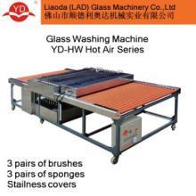 Glass Washing and Drying Machine - flat glass cleaning machine