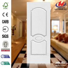 JHK 007 Classic American Masonite White Primer HDF puerta de la piel ampliamente utilizado Hotel