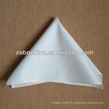 Hot selling design direct fabricé en usine luxe en coton coton serviette serviettes de table en lin