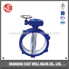Butterfly valve handles operated