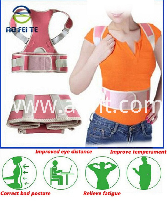 back and shoulders support belt