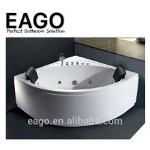 EAGO AM200 acrylic massage bath tub with two pillow