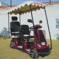 Scooters eléctricos de dos asientos Mobility con techo disponible (DL24800-4)
