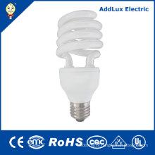 Luzes de poupança de energia 2700k-6400k espirais baratas do UL 20W 24W do CE