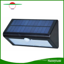 4000mAh 36 LED Triangle Solar Motion Sensor Garden Wall Light