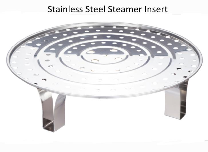 Stainless Steel Stockpot Steamer 2