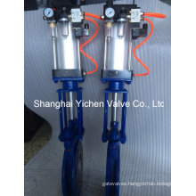 Pneumatic Knife Gate Valve (YCPZ673)