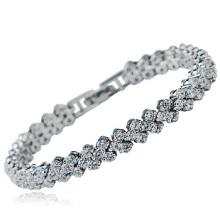 Bracelet Zircon Roman de la plus haute qualité en Chine Bracelet zircon luxueux Bracelet esclave nouveau modèle