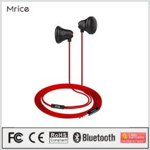 Auricular atado con alambre vendedor caliente de las auriculares de 3.5mm en auriculares del oído