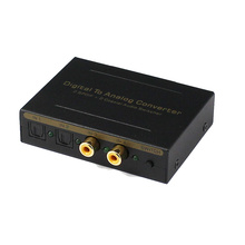 optical audio switch with audio converter