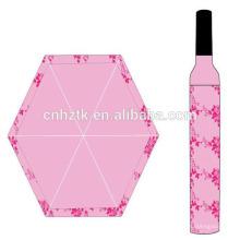 Botella de vino paraguas / paraguas japonés dall