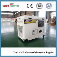 Стабильная производительность 5.5кВт с воздушным охлаждением Малый дизельный двигатель Электроэнергетический генератор Дизель-генераторная генераторная установка