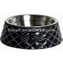 Alimentateur pour animaux de compagnie en céramique à l'extérieur Gant de chat / Bol de chien / Vente en gros Tasse à chien en acier inoxydable