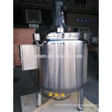 Chauffage électrique réservoir de mélange de chocolat avec mélangeur racleur
