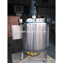 electric heating chocolate mixing tank with scraper mixer