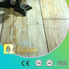 Piso laminado madera del vinilo del roble de arce de 12.3mm AC4