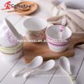 Keramik-Suppe Schüssel Malerei Keramik Schüsseln